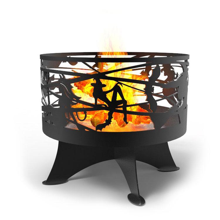 чаша для костра ведьмы