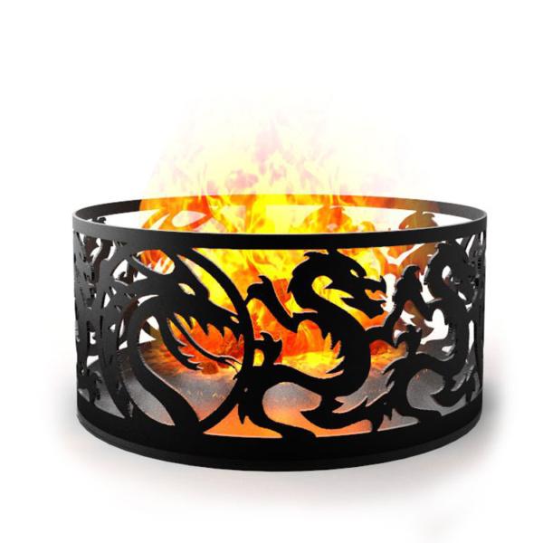 кострище драконы