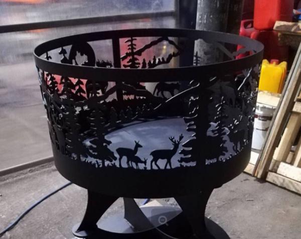 краска для костровой чаши