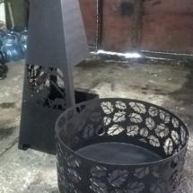 костровая чаша уличный камин