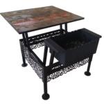 стол трансформер мангал